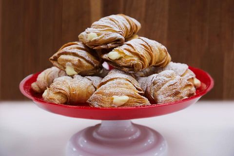 Food, Cuisine, Dish, Ingredient, Dessert, Baked goods, Pastry, Sfogliatelle, Rugelach, Produce,