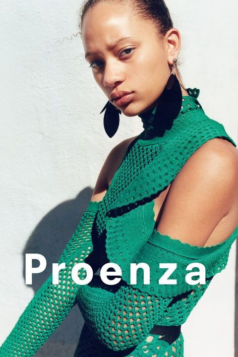 selena forest for proenza schouler campaign