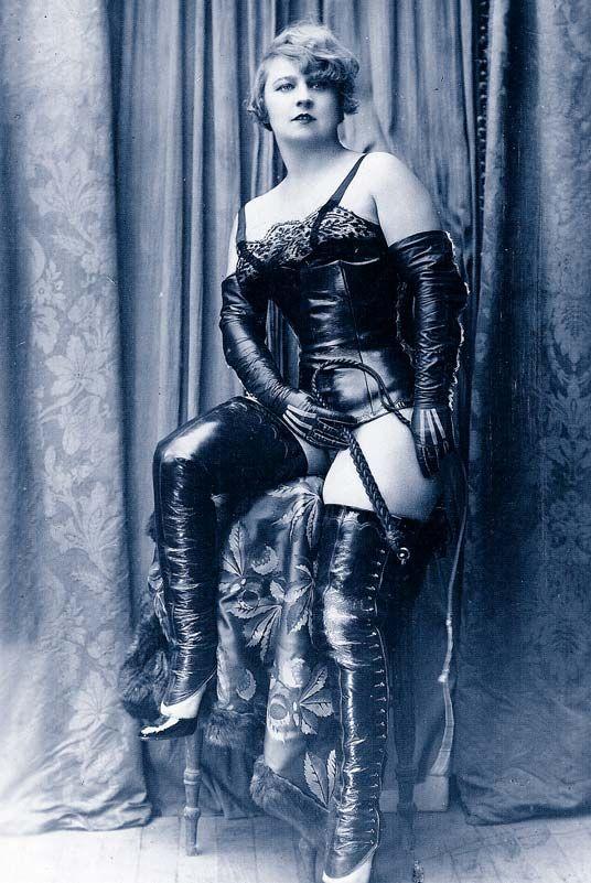 Vintage Dominatrix Photos