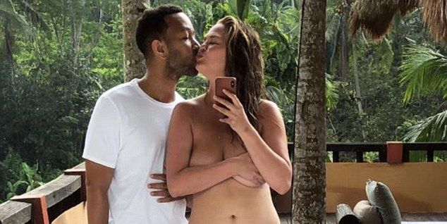 Chrissy Teigen Posts An Instagram Mom Bod Video And Gets