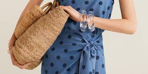 falda pareo top lunares mango verano tendencia