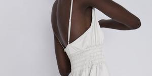 Zara vestido blanco novia