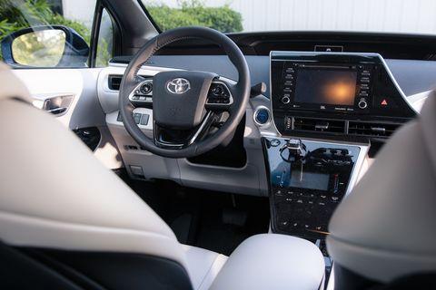 2020 toyota mirai fuel cell interior