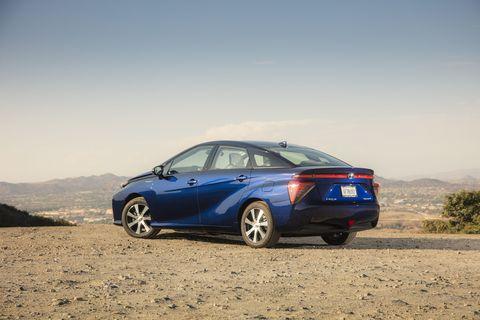 2020 toyota mirai fuel cell