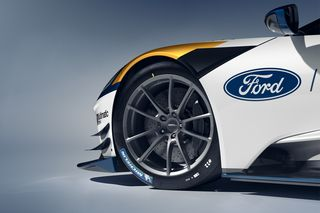 $1 2-Million 700-HP Track-Only Ford GT Mk II Revealed at Goodwood