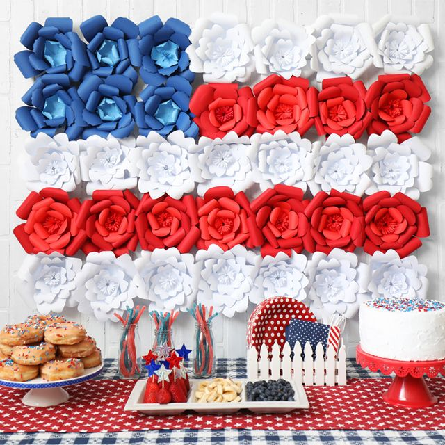 35 Festive 4th Of July Decorations Diy 4th Of July Party Decor