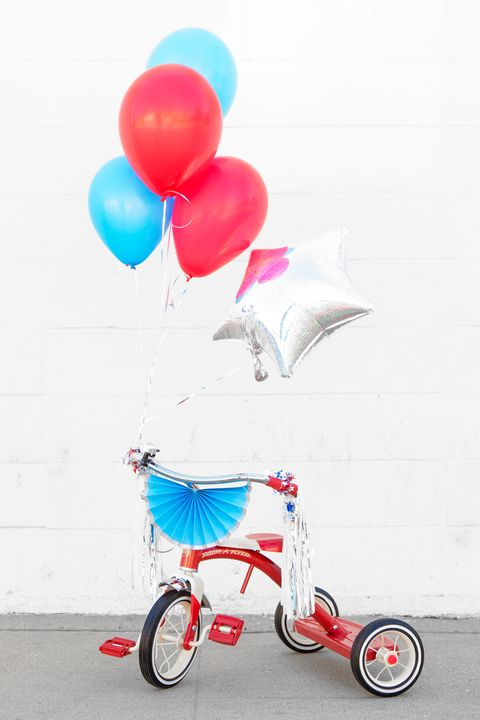 diy balloon bikes