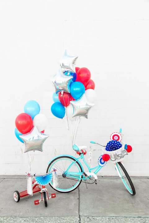 4th of july bicycles