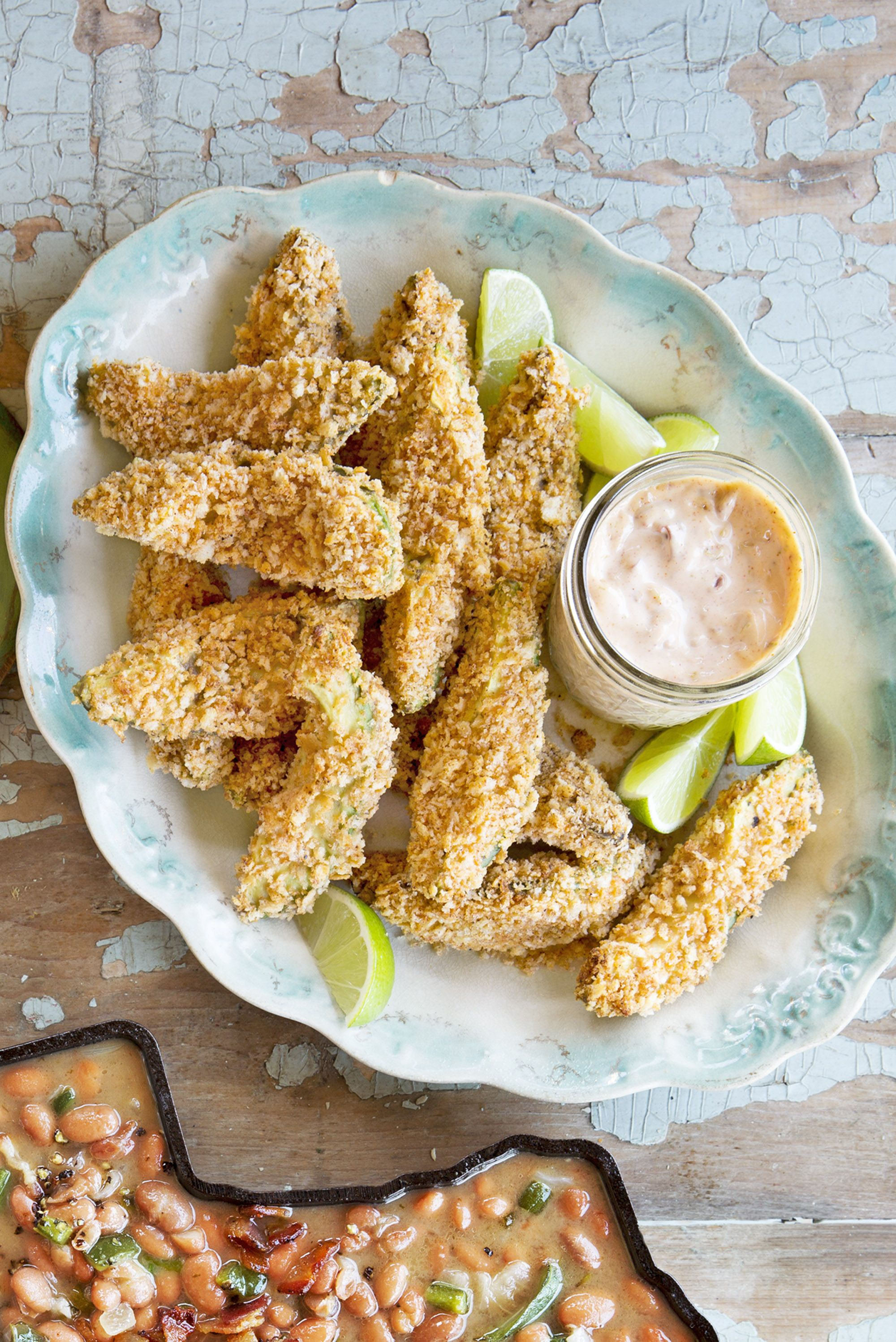 4th of july appetizers avocado fries