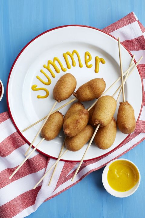 4th of july appetizers corn pups