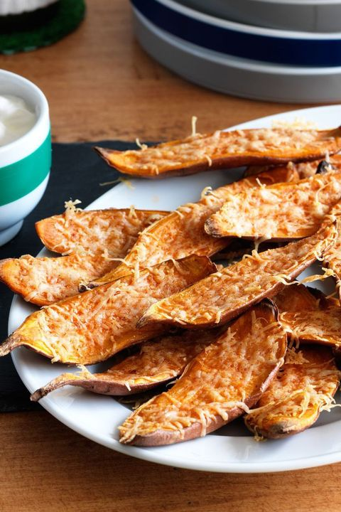 4th of july appetizers sweet potato skins