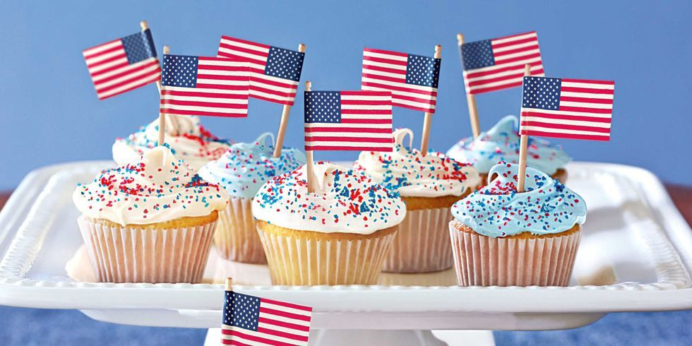23 Easy 4th of July Cupcake Cakes Recipes for Fourth of July