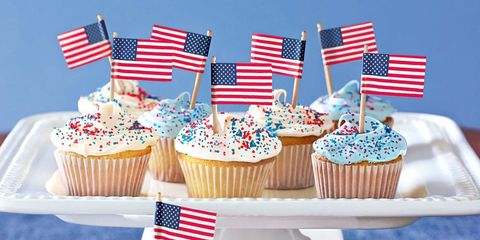 4th Of July Cake Cupcakes