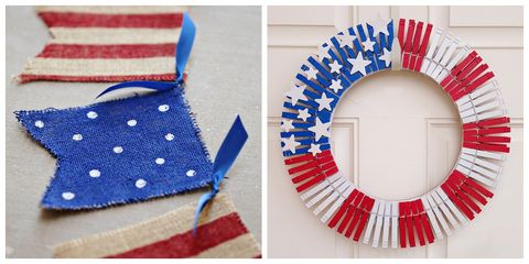 26 Easy 4th Of July Crafts Patriotic Craft Ideas Diy Decorations