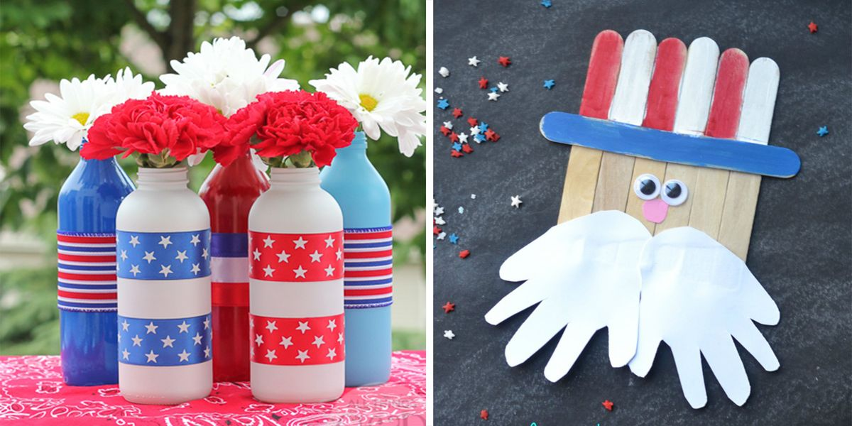 24 Patriotic Crafts That Are Perfect for The 4th of July