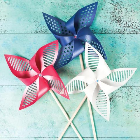 4th of july crafts patriotic pinwheels