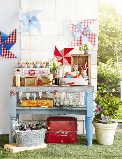 4th of july crafts paper pin wheels