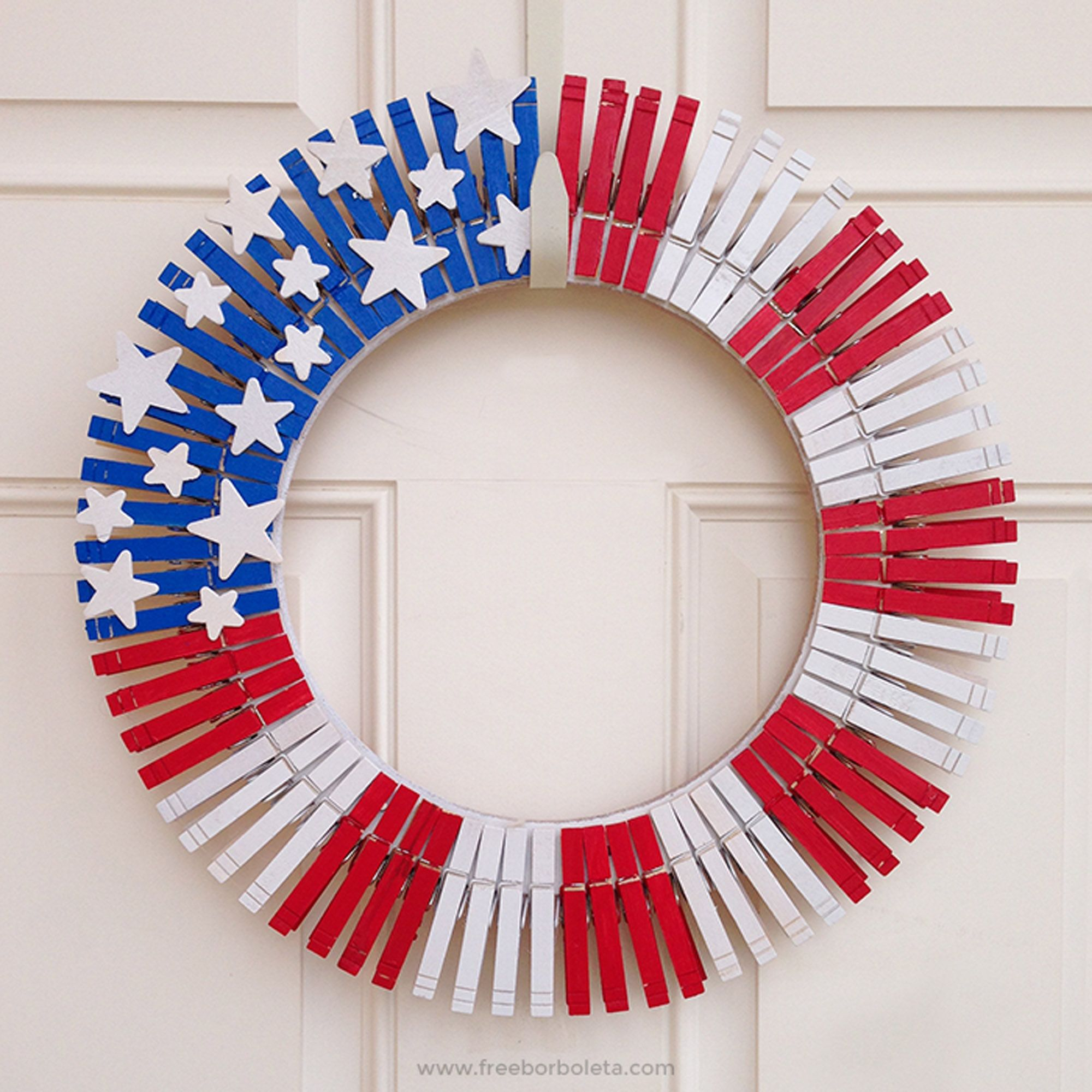 26 easy 4th of july crafts - patriotic craft ideas & diy decorations
