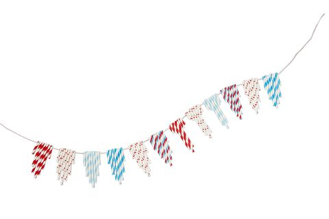 4th of july crafts straws