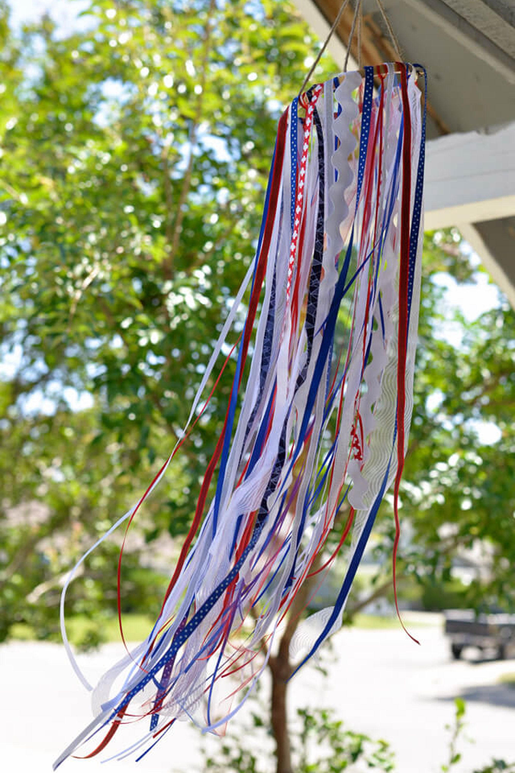 4th of july crafts windstock