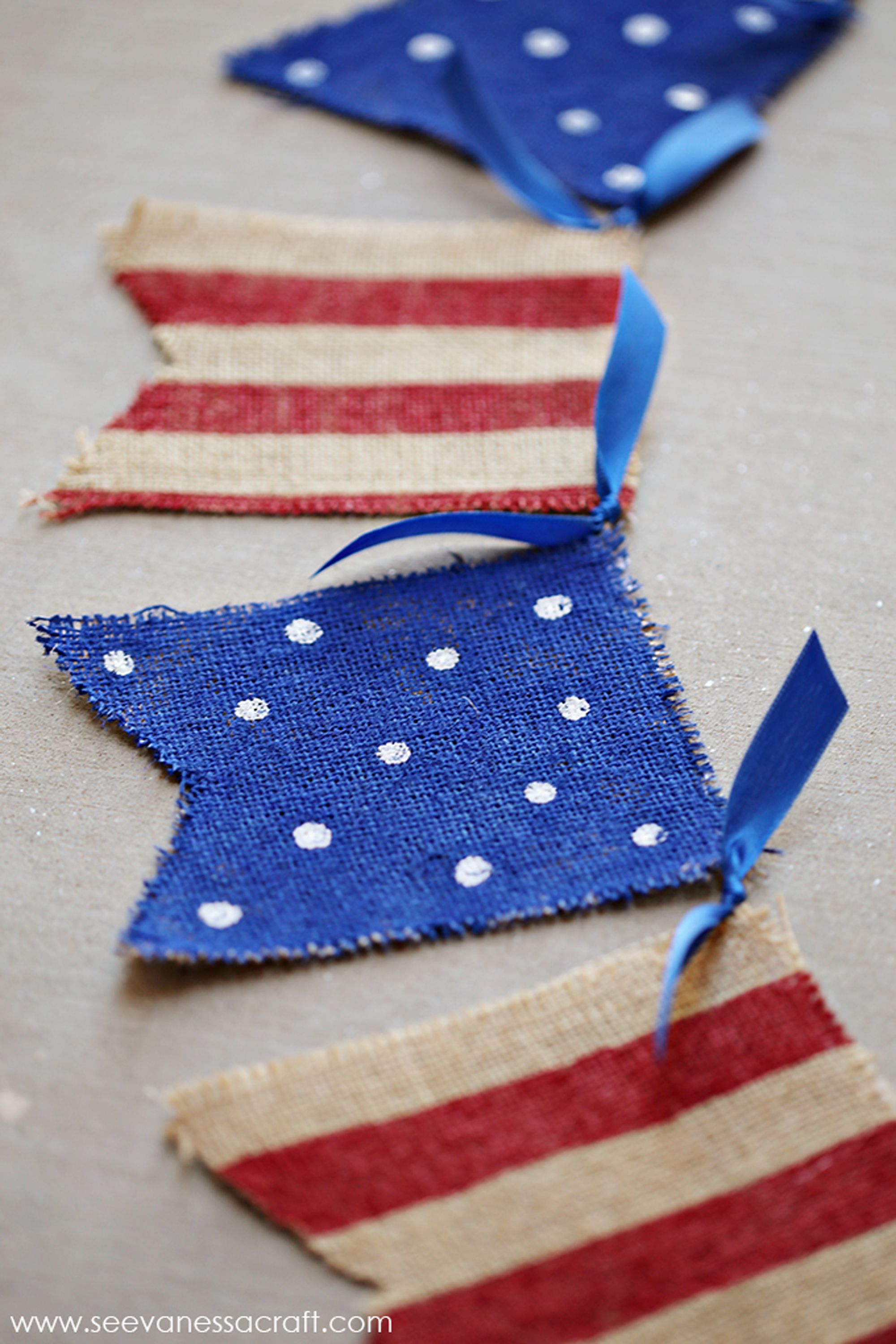 4th of july crafts wreath