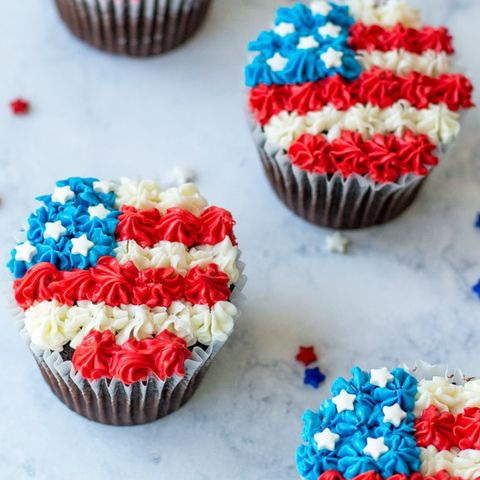 4th of july cupcakes american flag cupcakes
