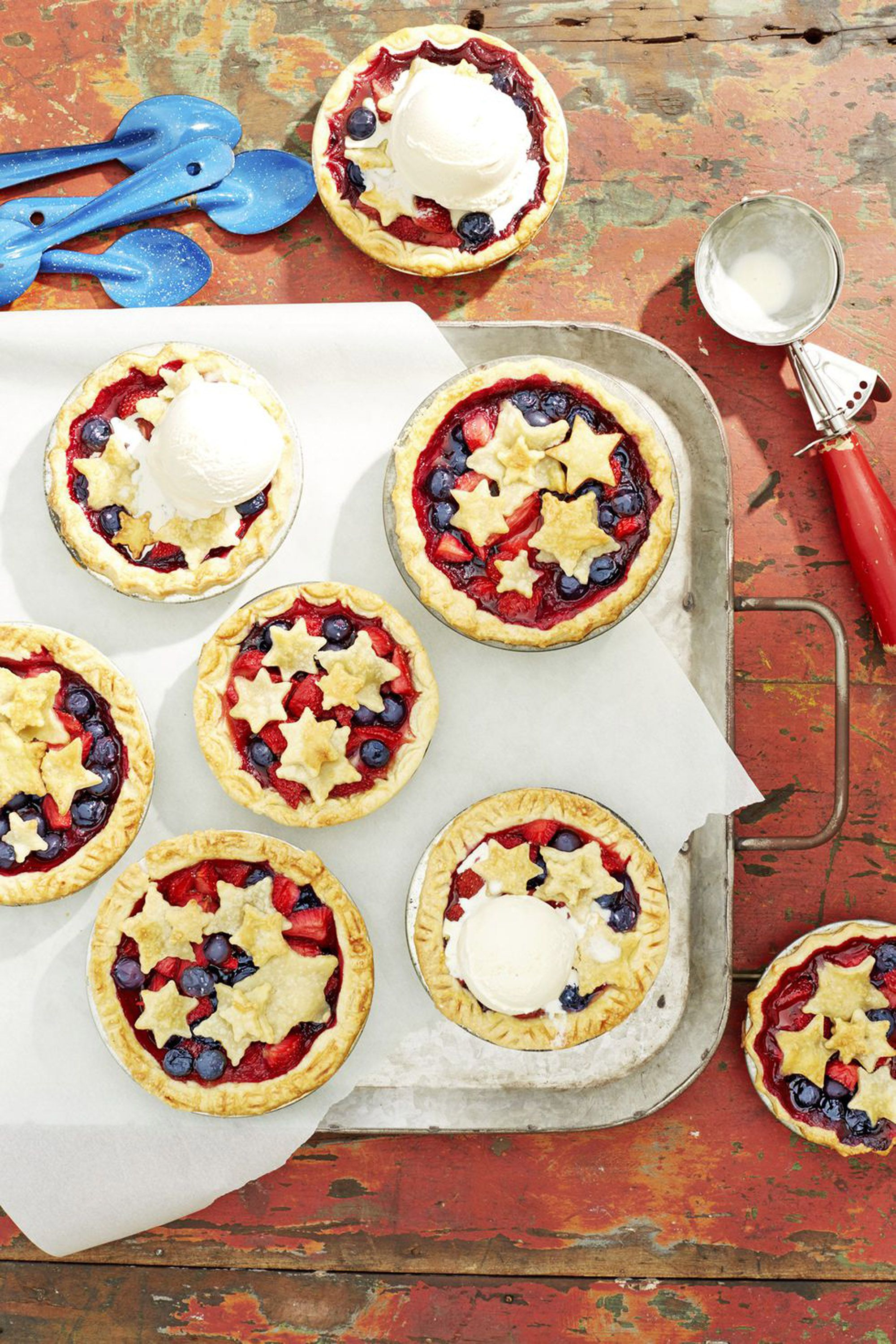 4th of july desserts pie