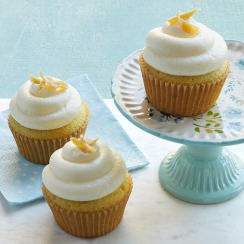 4th of july cupcakes double lemon