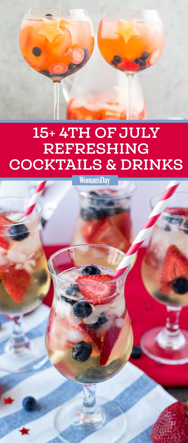 Easy 4th Of July Drinks And Cocktails Recipes For Fourth Of July