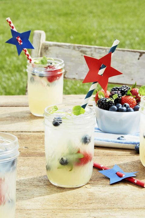 4th of july drinks lemonade