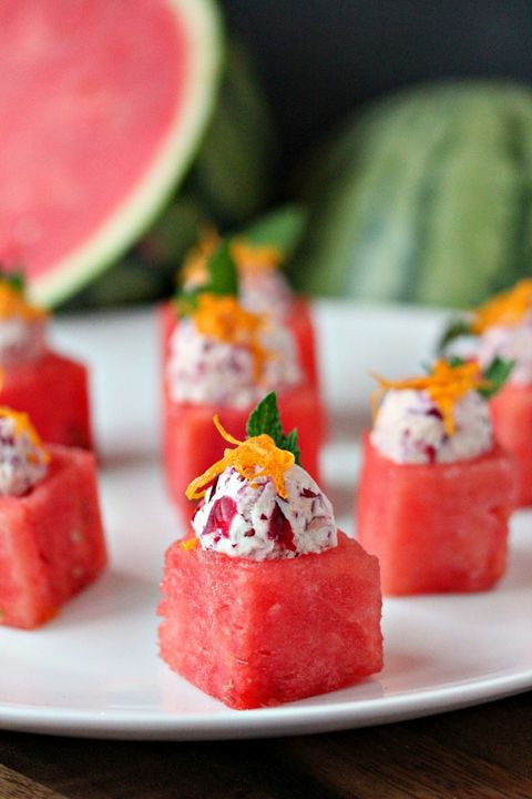 4th of july menu watermelon fruit appetizer