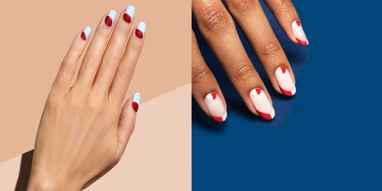 23 Best Nail Art Designs to Copy This Fourth of July - 4th of July ...