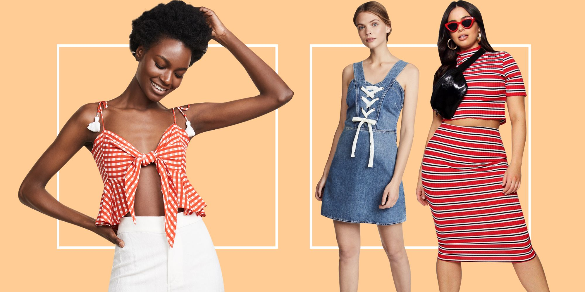 15 Patriotic But Fashionable Outfits to Wear to All Those Fourth of July Parties