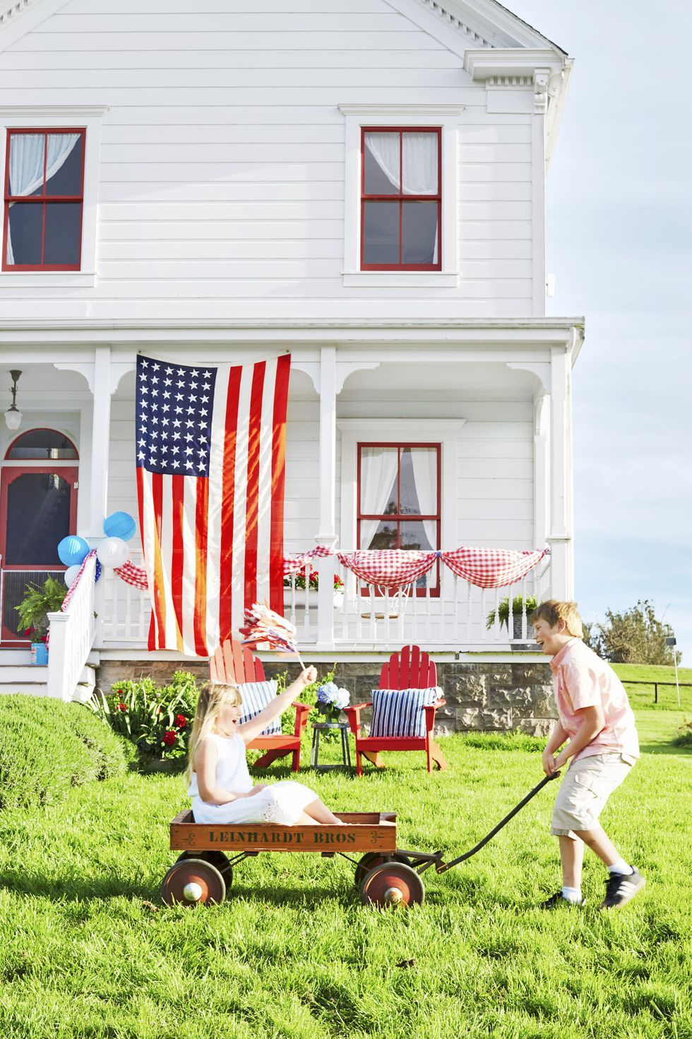 4th of july party ideas flag