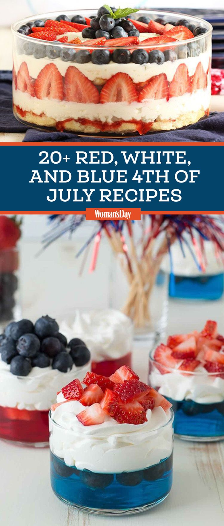 099969adf18 22 Easy 4th of July Recipes — Best Food Ideas   Snacks for Fourth of July