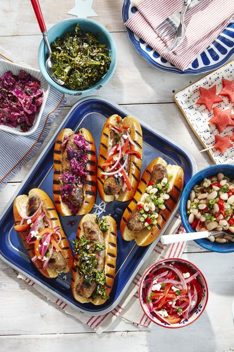 4th of july recipes grilled sausages