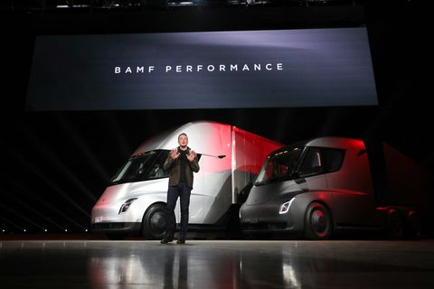 The Electric Semi Is Here And Autonomous Big Rigs Are Next