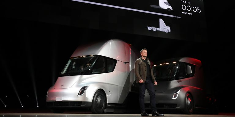 The 2020 Tesla Semi Is The Quickest Semi Truck Naturally
