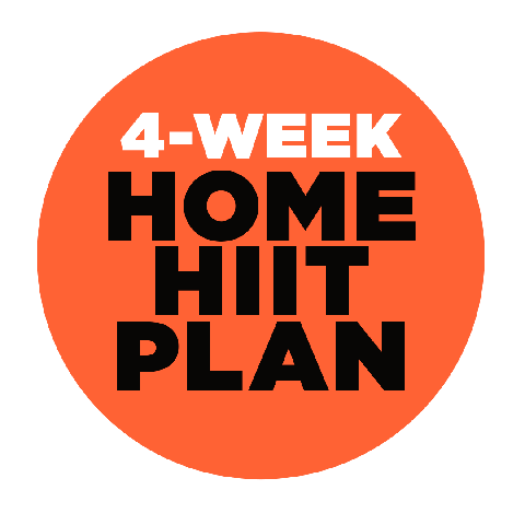four week home hiit plan