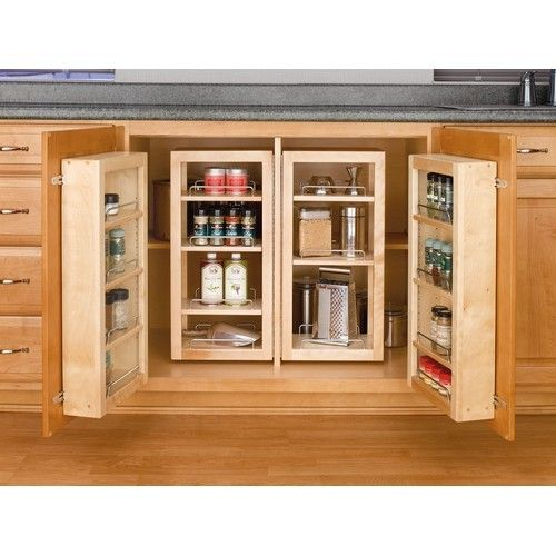 Your Kitchen Will Feel So Much Bigger With A Revolving Pantry Shelf System