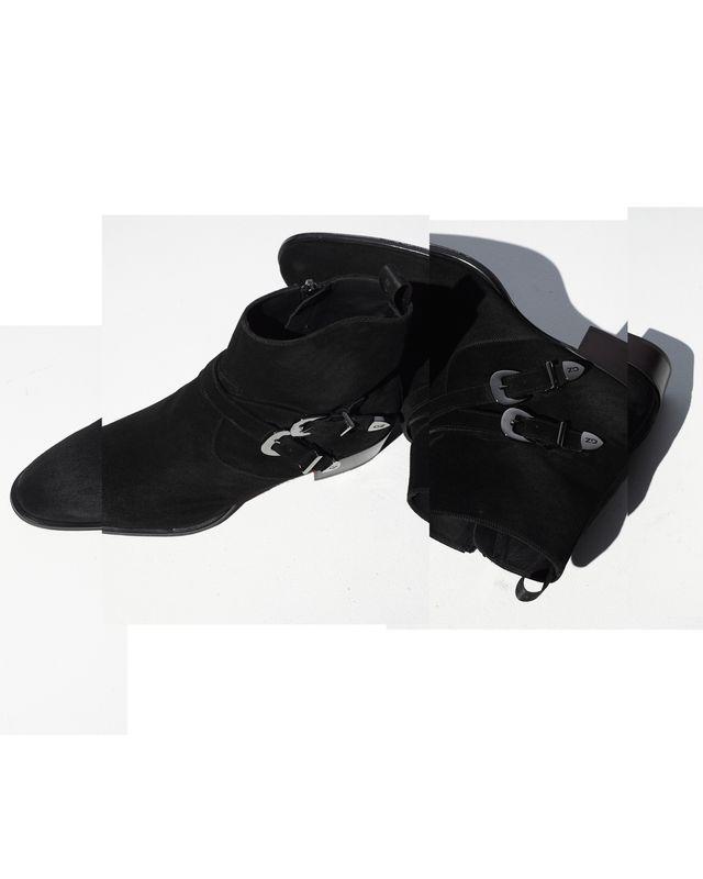 sheldon buckle boots