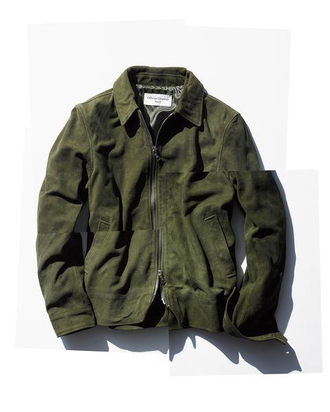 officine generale rod bomber jacket