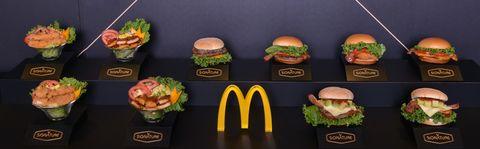 麥當勞推出「Signature極選系列」週年,全新口味有酪梨4款漢堡,牛肉堡和雞肉堡都有,頂級美味再升級。吳珊如擔任試吃嘉賓。