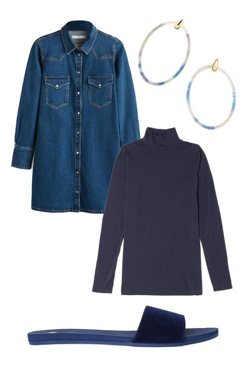 Denim, Clothing, Blue, Jeans, Sleeve, Outerwear, Textile, Collar, Pocket, Electric blue,