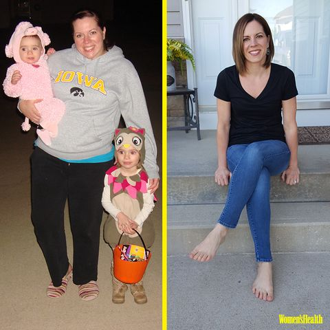How This Busy Mom Used Home Workouts to Lose Over 70 Pounds