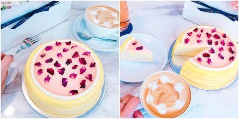 Food, Cuisine, Dish, Dessert, Ingredient, Mousse, Torte, Pudding, Milkshake, Cream,
