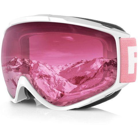 Eyewear, Personal protective equipment, Goggles, Pink, Glasses, Magenta, Sunglasses, Helmet, Material property,