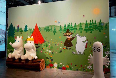 嚕嚕米展,嚕嚕米商品,嚕嚕米手機殼,三創生活園區展覽,三創園區,台北三創展覽,台北免費展覽,嚕嚕米周邊,嚕嚕米杯