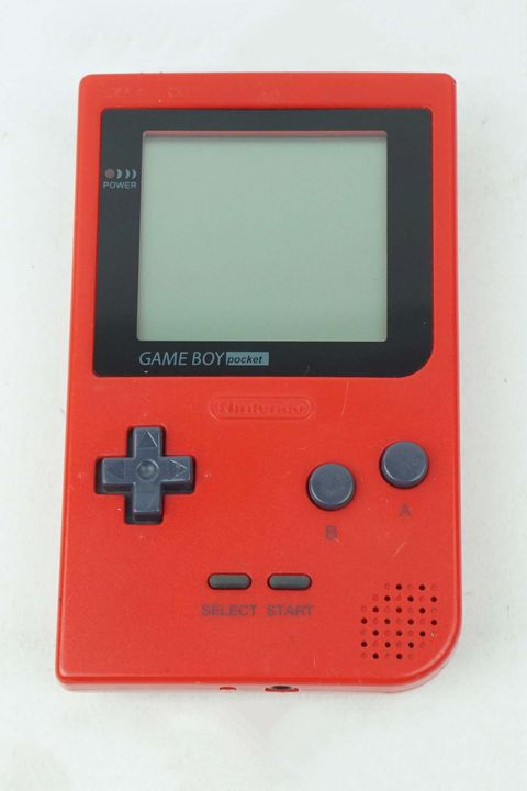 Gadget, Game boy console, Game boy, Technology, Electronic device, Handheld game console, Portable electronic game, Game boy advance, Red, Video game console,