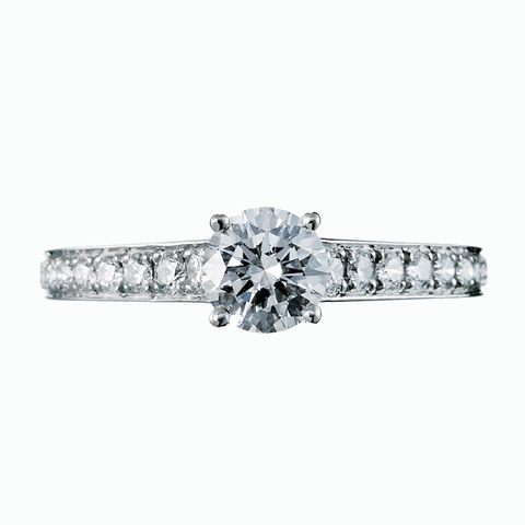 Diamond, Ring, Engagement ring, Fashion accessory, Jewellery, Platinum, Body jewelry, Gemstone, Pre-engagement ring, Silver,